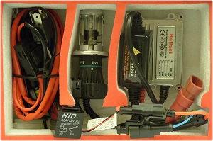 Yamaha XT225 XT600 XT660R XT660X HID Xenon Conversion Slim Kit Bi-Xenon H4 Hi//Lo